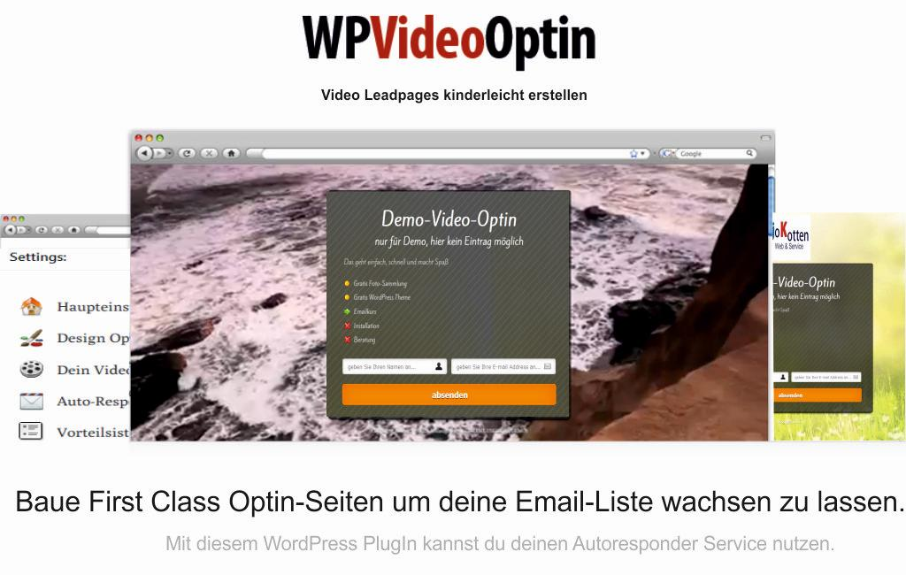WP-Video-Optin PlugIn